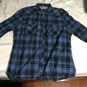 Long sleeve American Eagle button up